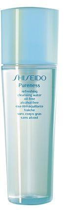 Shiseido Pureness Refreshing Cleansing Water Oil-Free Alcohol-Free Odświeżająca woda do demakijażu - 150ml Do każdego zamówienia upominek gratis.