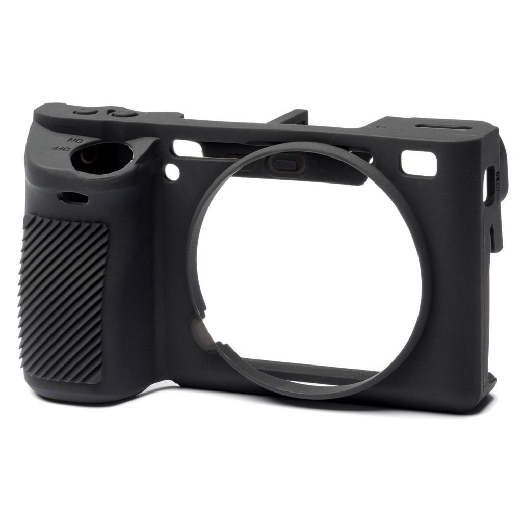 Osłona silikonowa easyCover do aparatu Sony A6500 czarna