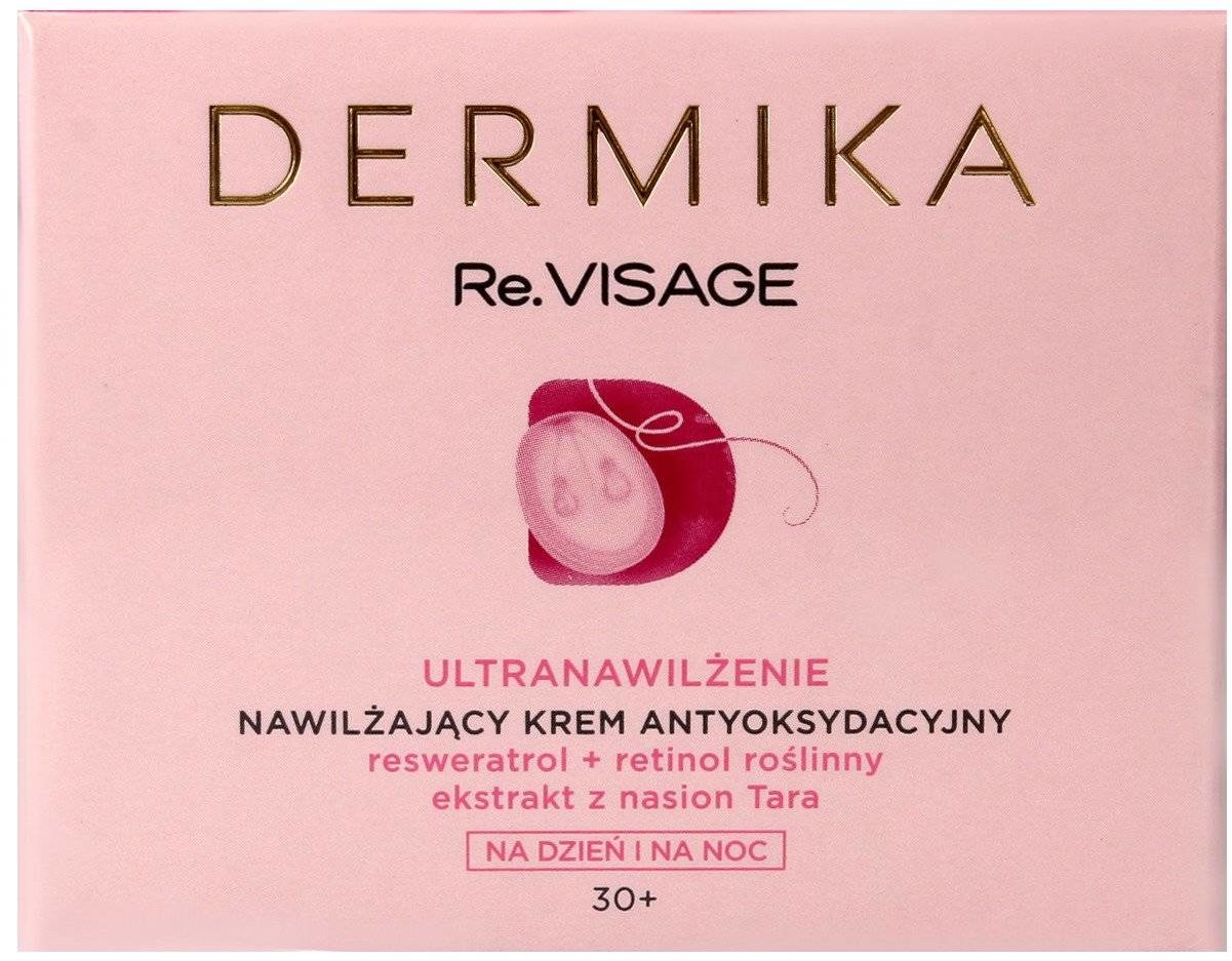 Dermika Re.Visage 30+ Nawilżający Krem antyoksydacyjny na dzień i noc 50ml