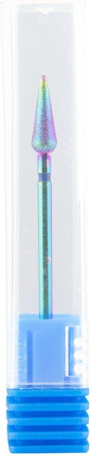 Frez diamentowy UNICORN nr1 tęczowy stożek wąski