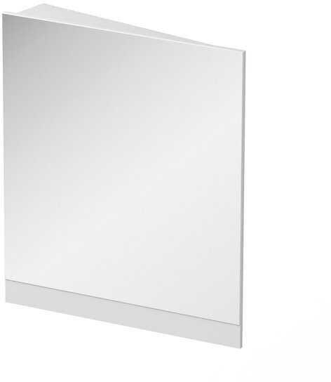 RAVAK 10  lustro narożne 65 cm lewe korpus biały X000001076
