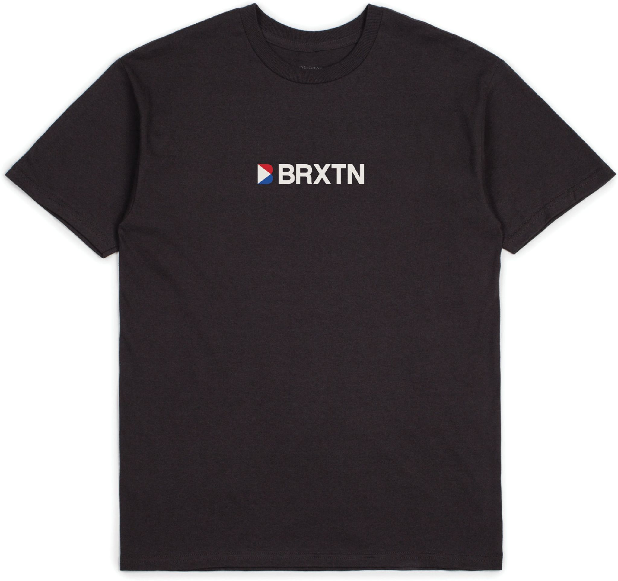 t-shirt męski BRIXTON STOWELL IV TEE Washed Black