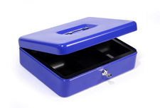 Kasetka metalowa na pieniądze HF-M300A niebieska