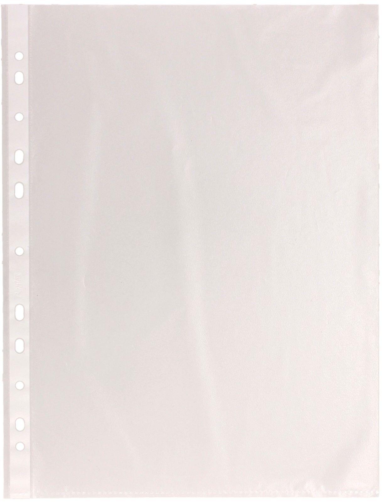 Koszulki groszkowe A4 (100)/folia 40mic Herlitz