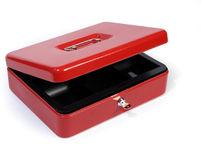 Kasetka metalowa na pieniądze HF-M300A czerwona