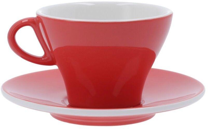 Filiżanka do latte Club House Gardenia 265 ml - Łososiowa czerwień