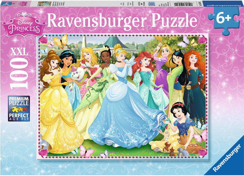 Ravensburger - Olśniewające Księżniczki 100 elem. 105700