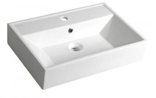 SISTEMA umywalka ceramicza 50x42cm, biała