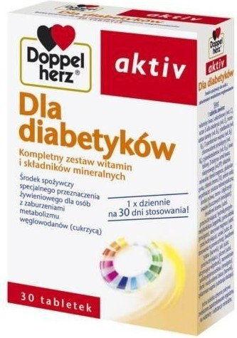 Doppelherz Aktiv Dla diabetyków 30tabl.