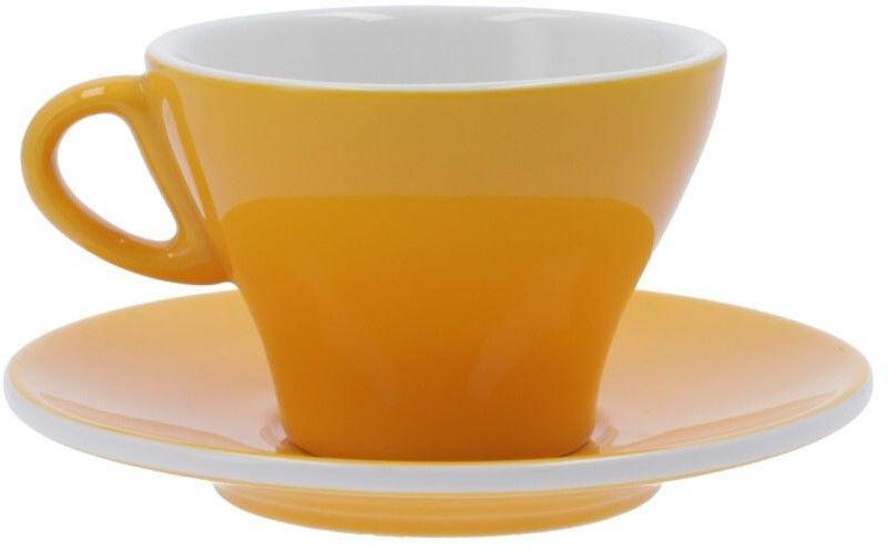 Filiżanka do latte Club House Gardenia 265 ml - Żółta