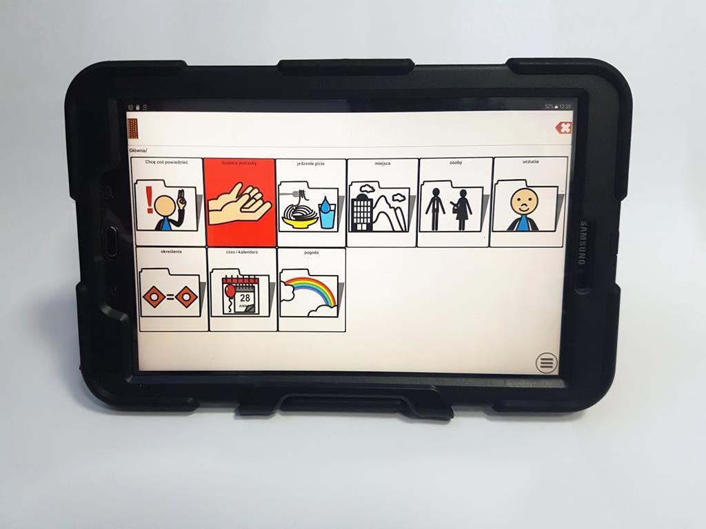 Mówik 2.0 + tablet + wzmocnione etui + usługa instalacji
