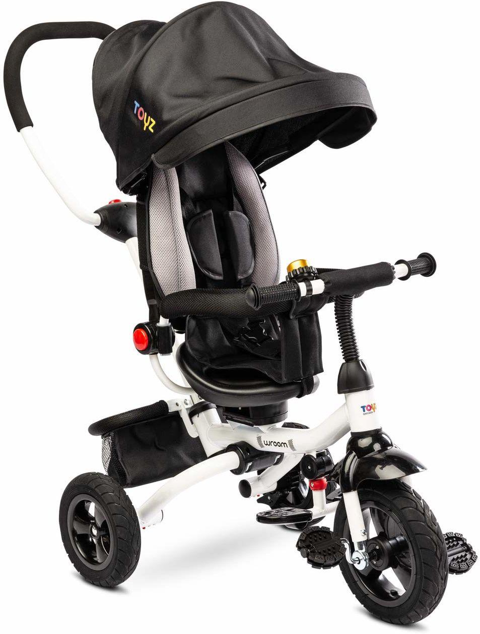 TOYZ ToyZ-0340 rower trójkołowy, czarny