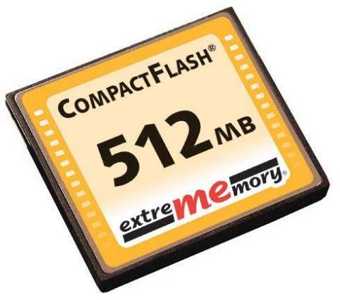 ExtreMemory FL-CF/512/EM 512 MB Compact Flash