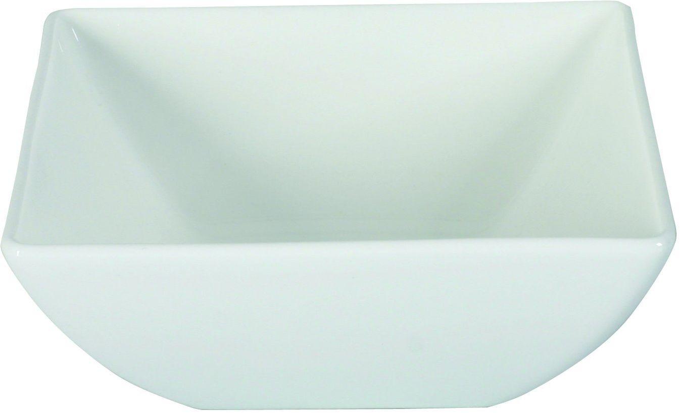 Dajar Miska 14 cm Porto, porcelana, biała, 14 x 14 x 5,6 cm