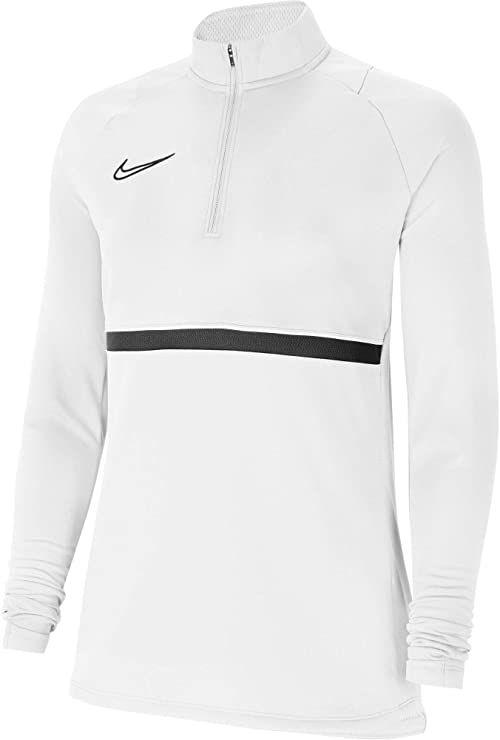 Nike Damska bluza treningowa Academy 21 Drill Top Biały/czarny/czarny XL