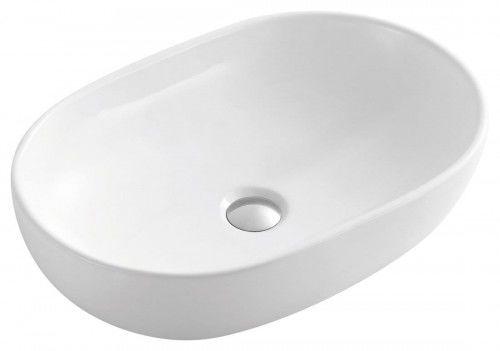 Umywalka CALEO 59x41x15cm, biała