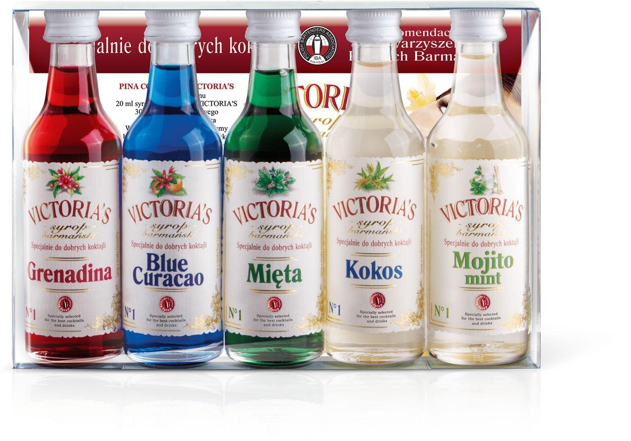 Victoria''s Cymes - Zestaw Syropów do Drinków 5x50ml