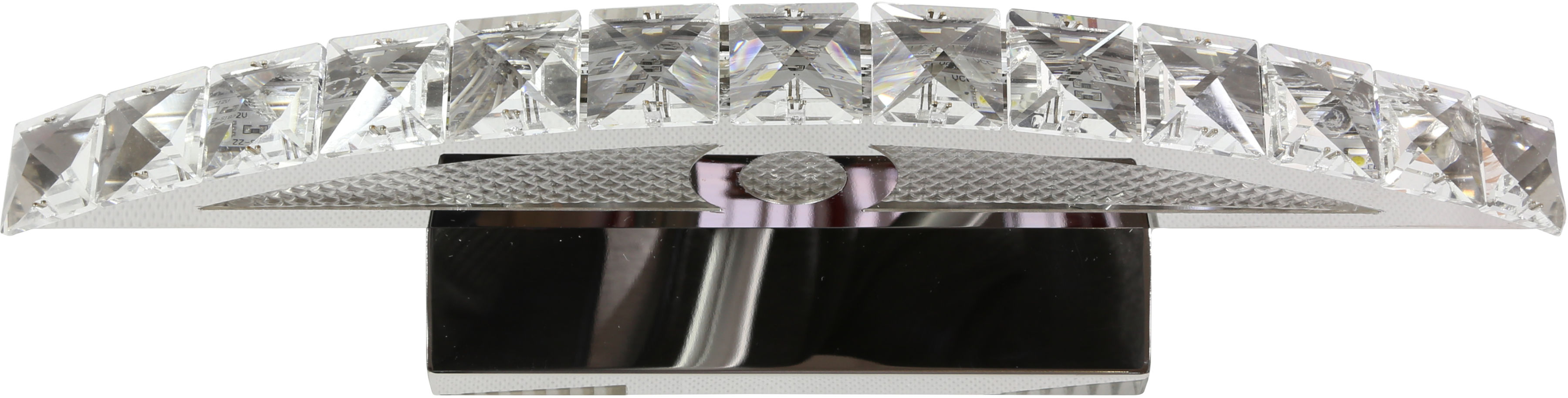 Candellux ARANDE 20-32683 kinkiet lampa ścienna kryształki chrom 8W LED 38cm