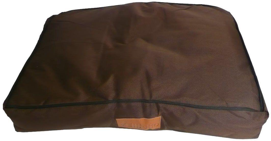 Ellie-Bo wodoodporna poduszka dla psa specjalna klatka, 56 x 41 cm, brązowa
