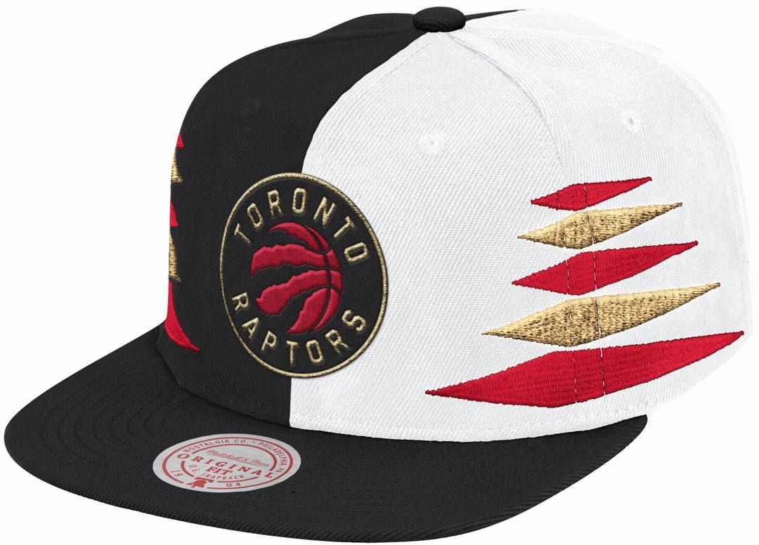 Czapka z daszkiem Mitchell & Ness NBA Diamond Cut Snapback Toronto Raptors