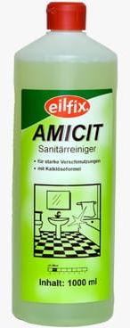 Eilfix Amicit 1l, płyn do czyszczenia łazienek i sanitariatów