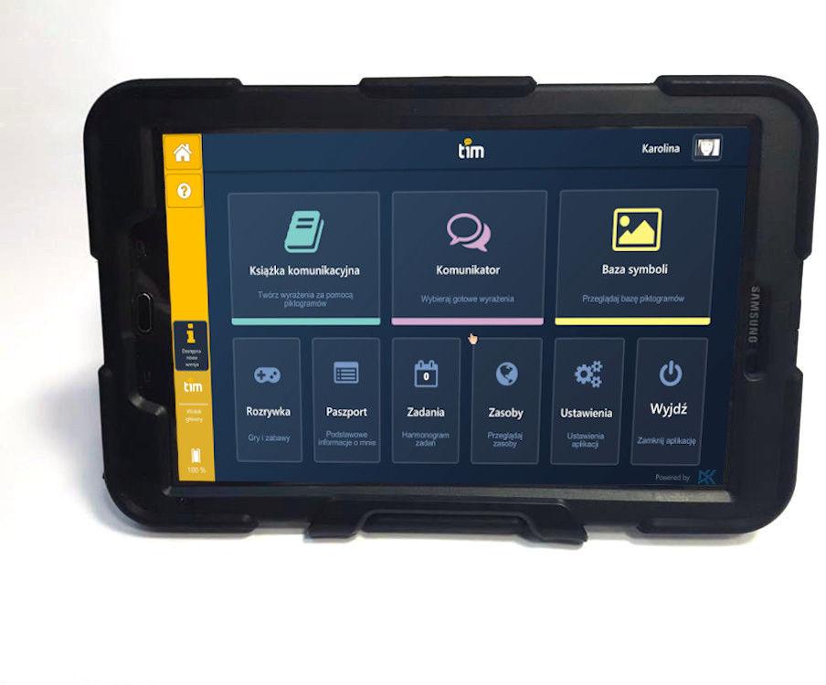 TIM + tablet + wzmocnione etui + usługa instalacji