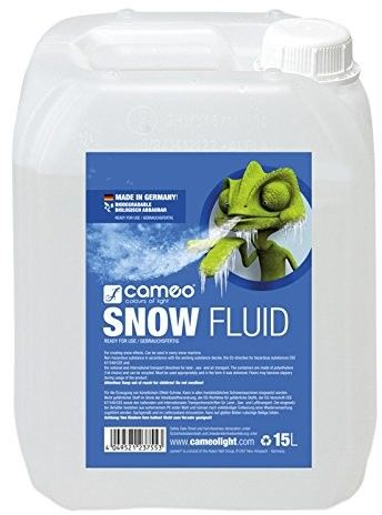 Cameo SNOW FLUID 15 L - Special Fluid for Snow Machines for the Production of Foam 15 L