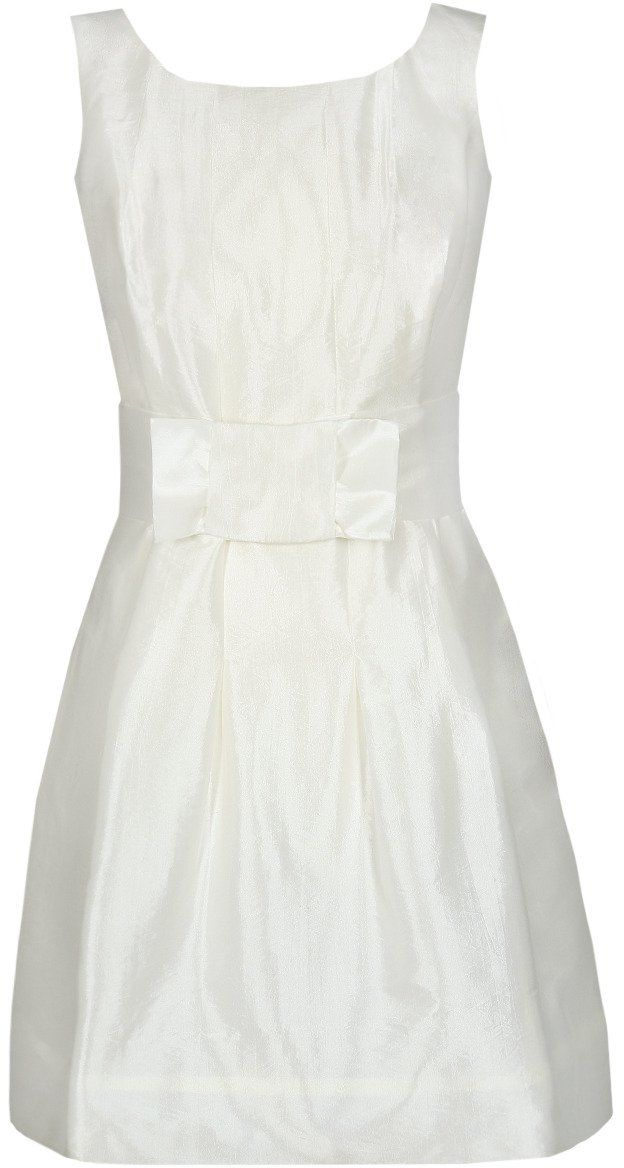 Sukienki Sukienka Suknie FSU156 EKRI