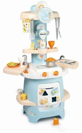 SMOBY Ptitoo Moja Pierwsza Kuchnia Niebieska 2w1