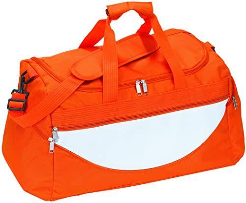 Out BAG CHECK.IN Bag torba sportowa Champ, pomarańczowa/biała