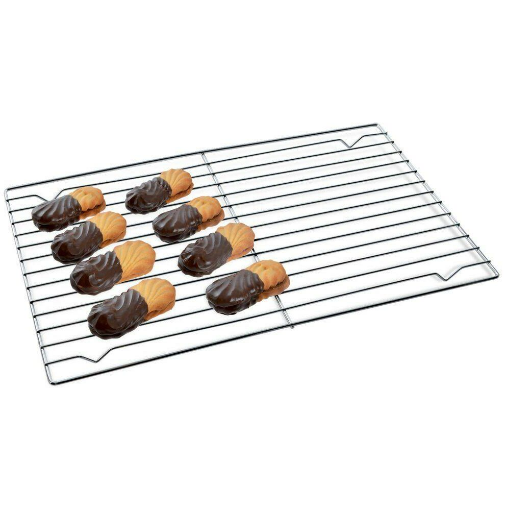 Ruszt grillowy do brytfanny pieczenia kratka podstawka do studzenia lukrowania ciasta tortu 32x23 cm