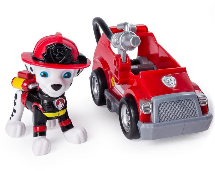 Psi Patrol - Mini pojazd Ultimate Rescue z figurką Marshall 20101480