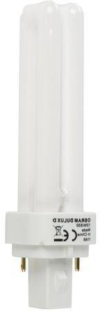 Świetlówka kompaktowa G24d-1 (2-pin) 13W 3000K DULUX D 4050300025698