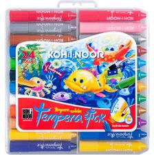 TEMPERA STICK kredki woskowe wykręcane dla dzieci