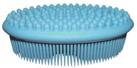 ACT NATURAL niebieska szczotka (gąbka) do kąpieli i masażu