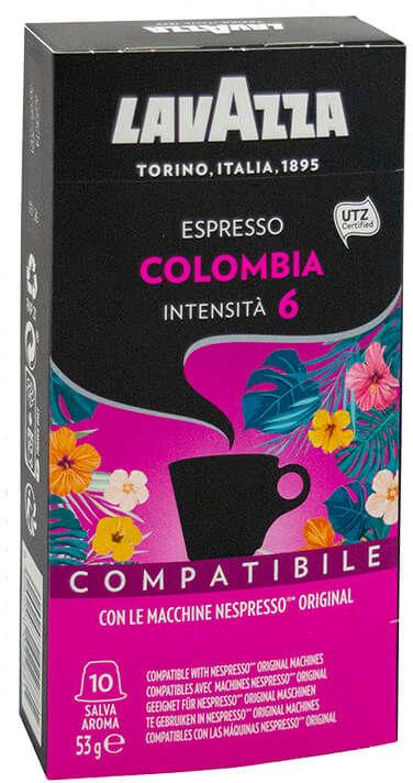 Lavazza Colombia Nespresso 10 kapsułek