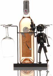 ludi-vin Uchwyt na butelki metalowy żaglówka