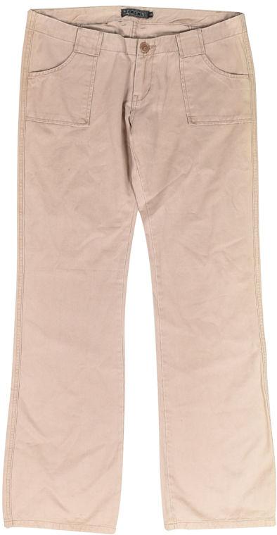 Mambo MISS LEGGY F62 spodnie lniane kobiety - 12
