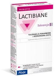 PiLeJe Lactibiane Tolerance (Probiotyk na Biegunki i Alergie - Lactibiane Tolerancja) 30 kapsułek