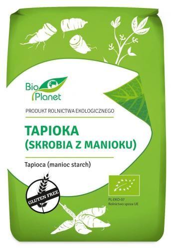 Tapioka (skrobia z manioku) bezglutenowa BIO 800 g Bio Planet