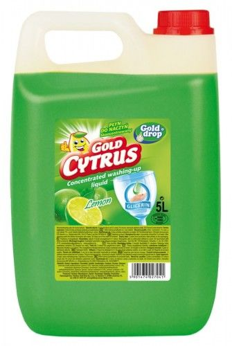 Gold Cytrus Płyn do mycia naczyń 5l