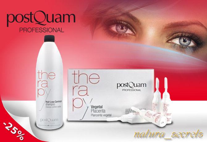 PostQuam ampułki placenta + szampon 1litr