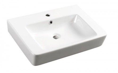 Umywalka ceramiczna MODIS 65x45 cm, biała