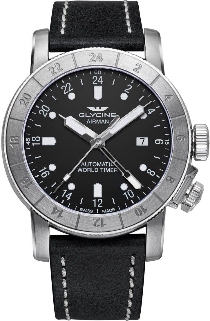 Zegarek Glycine GL0056 AIRMAN - CENA DO NEGOCJACJI - DOSTAWA DHL GRATIS, KUPUJ BEZ RYZYKA - 100 dni na zwrot, możliwość wygrawerowania dowolnego tekstu.