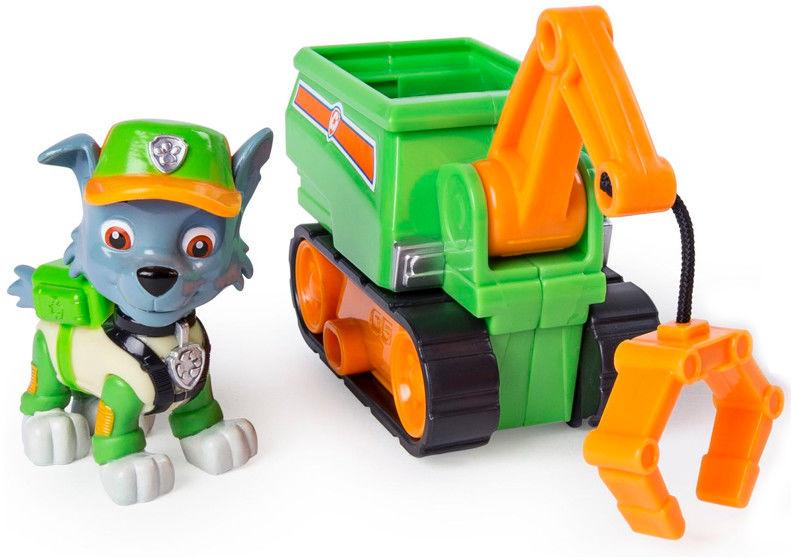 Psi Patrol - Mini pojazd Ultimate Rescue z figurką Rocky 20101482
