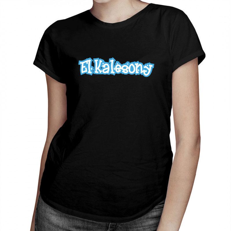 El Kalesony - damska koszulka z nadrukiem