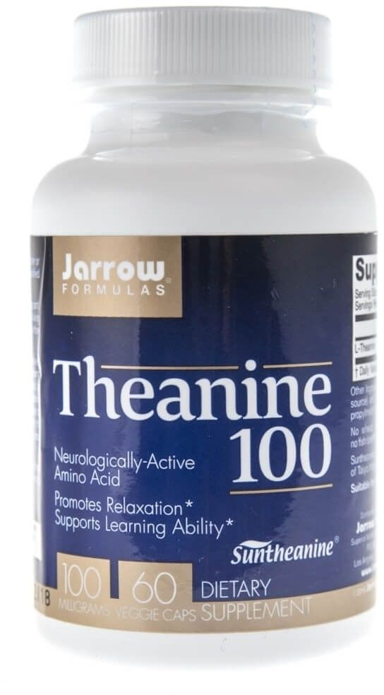 Jarrow Formulas Theanine (L-teanina) 100 mg - 60 kapsułek