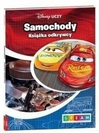 Disney Uczy. Samochody. Książka odkrywcy - praca zbiorowa