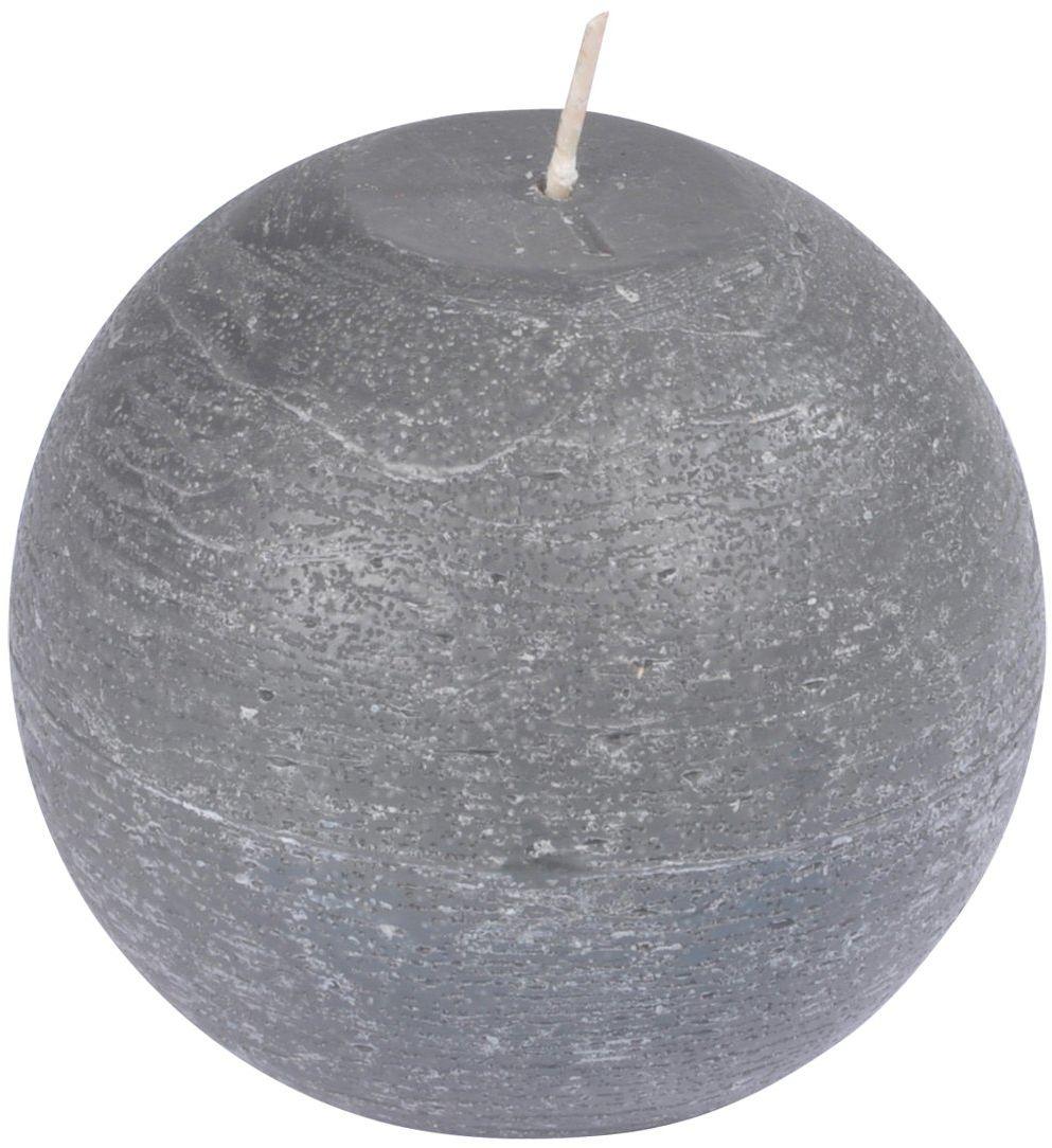 homea 6bpb005gf świeca kula parafina antracyt 9,5 x 9,5 x 8 cm