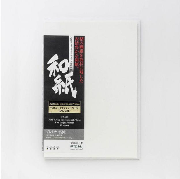 Papier AWAGAMI Premio Unryu 165 - A2, 10 arkuszy (IJ-6422)